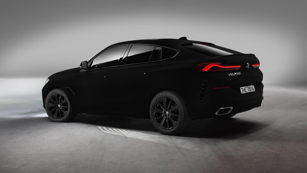 One-off BMW X6 Painted In The World's Blackest Black